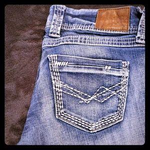 BKE bootcut denim jeans